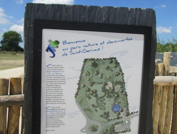 5 plan du Parc