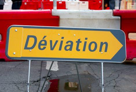 Déviation D758