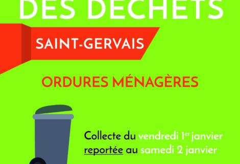 REPORT COLLECTE DÉCHETS